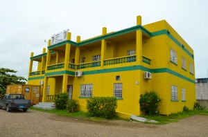 View of the BFLA office in Belize City