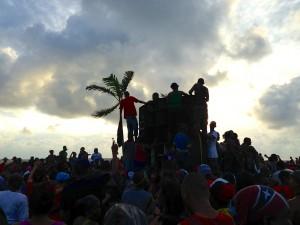 Snapshot of J'ouvert celebrations in Belize City