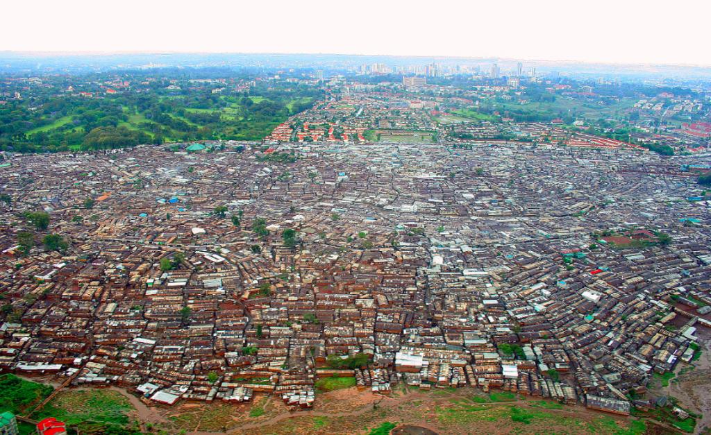 kibera-aerial