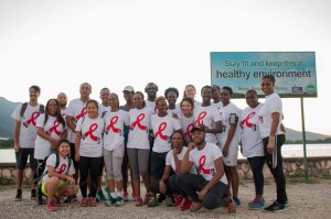 World AIDS Day Breakfast and Run with Jamaica's Minister of Health at Mona Dam, Kingston, Jamaica